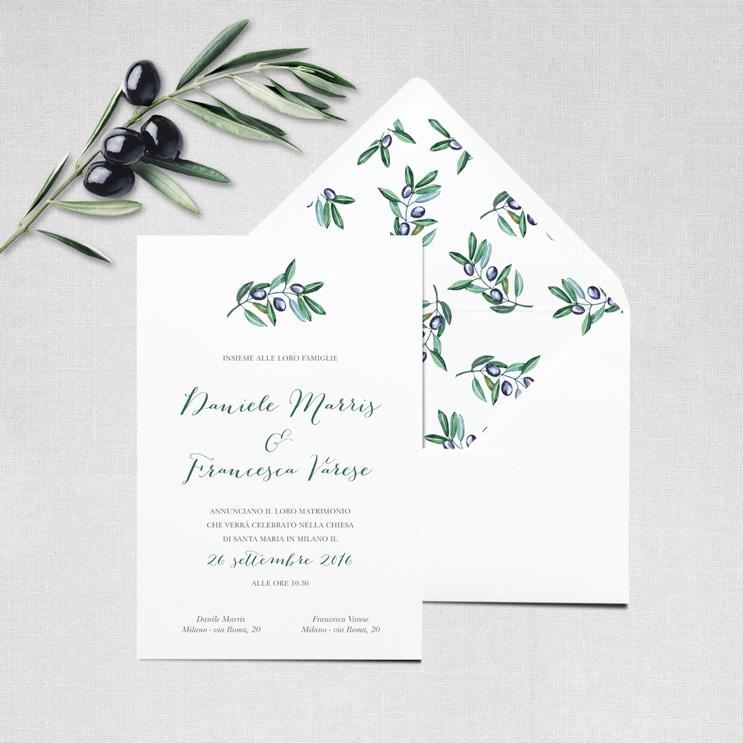 Partecipazioni matrimonio e inviti nozze my wedding paper for Partecipazioni nozze on line